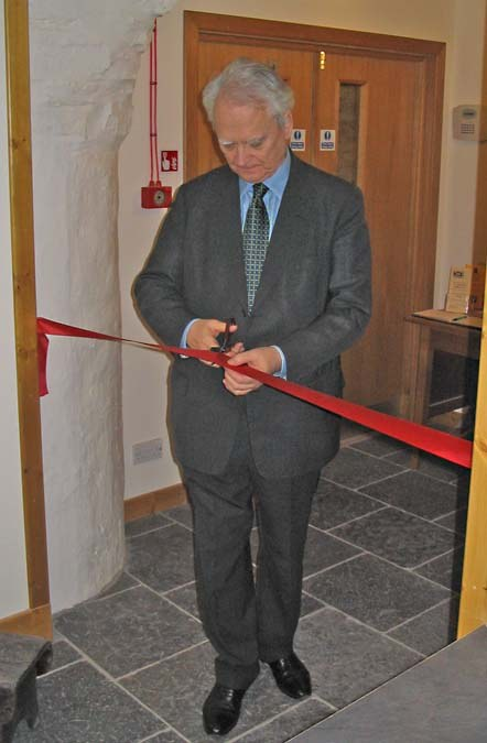 Photo: Lord MacLennan Of Rogart Opened The Castlehill Heritage Centre