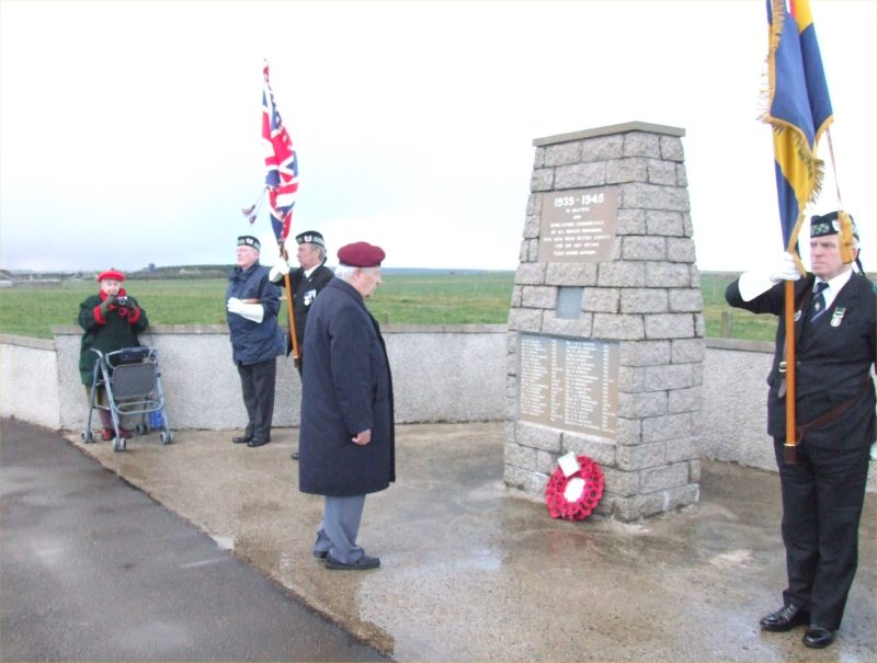 Photo: Remembrance At Skitten Memorial - 11 November 2007