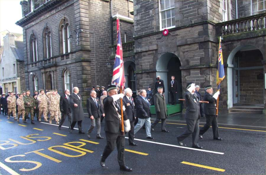 Photo: Remembrance At Wick - 11 November 2007