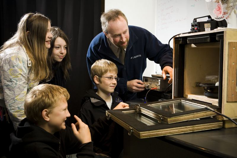 Photo: Lab In A Lorry Visited Thurso And Wick High Schools