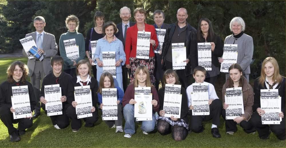 Photo: Neil Gunn Writing Competition Winners 2007 At Strathpeffer