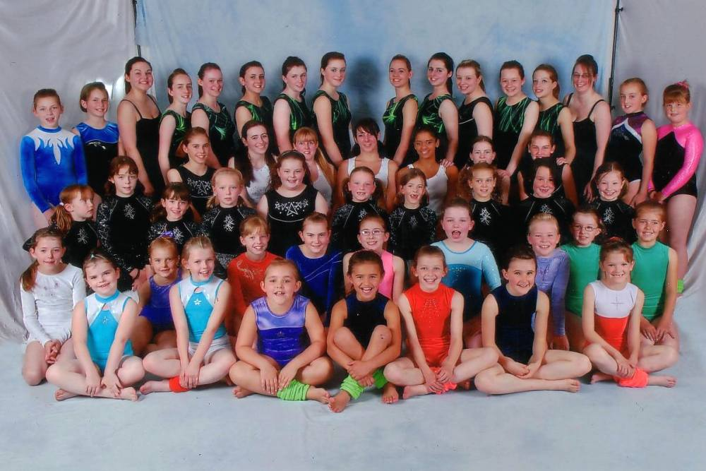 Photo: Caithness Girls At Gymfest Inverness