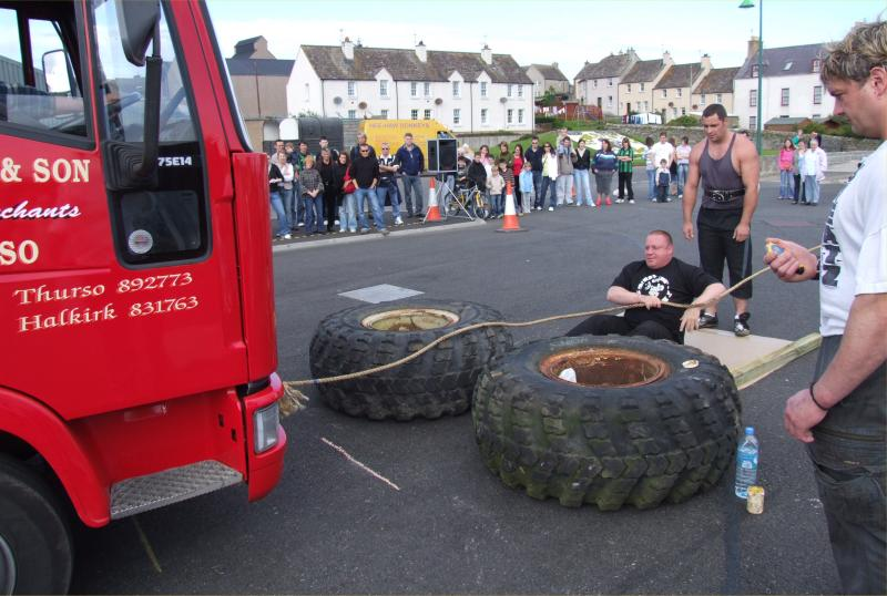 Photo: Strongman Competition Thurso 2007