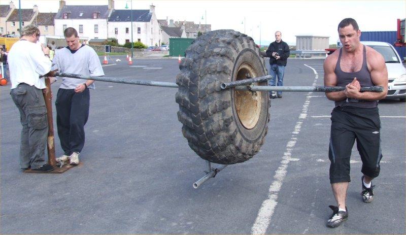 Photo: Strongman Competition Thurso 2007
