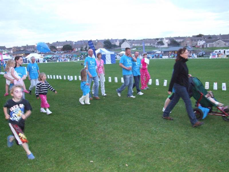 Photo: Relay For Life Caithness At The Dammies Thurso