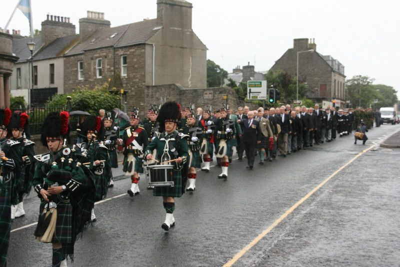 Photo: Territorial Army In Caithness Celebrated 100 Years With Prince Charles