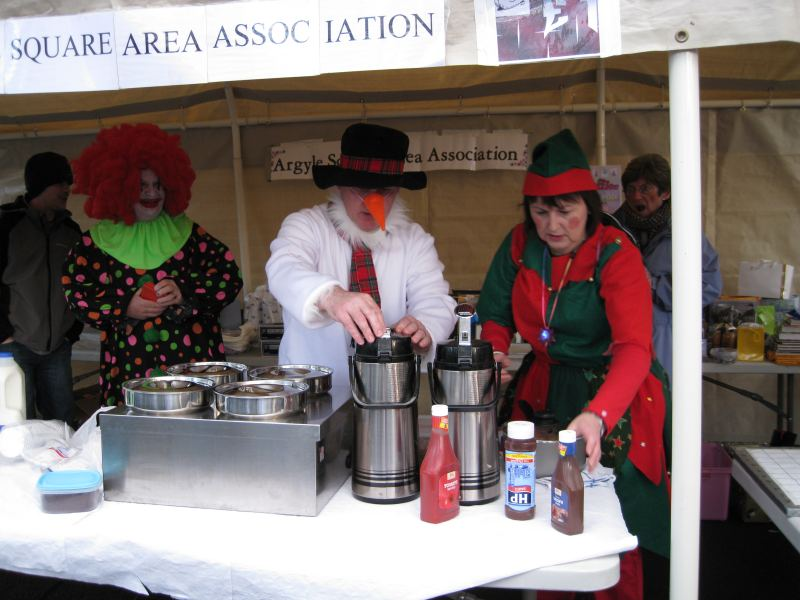 Photo: Argyle SQuare Area Association Christmas Event