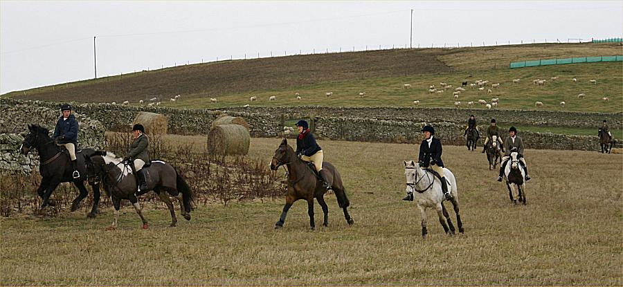 Photo: Boxing Day Mock Hunt At Sandside Estate