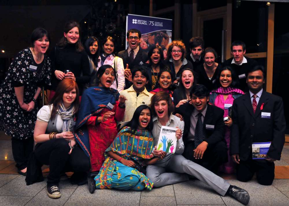 Photo: Global Xchange Volunteers From Caithness At Scottish Parliament Reception
