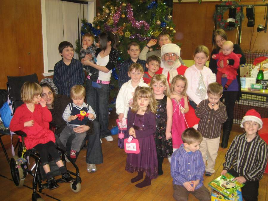 Photo: Milton Residents Annual Christmas Party At Staxigoe Hall 2008