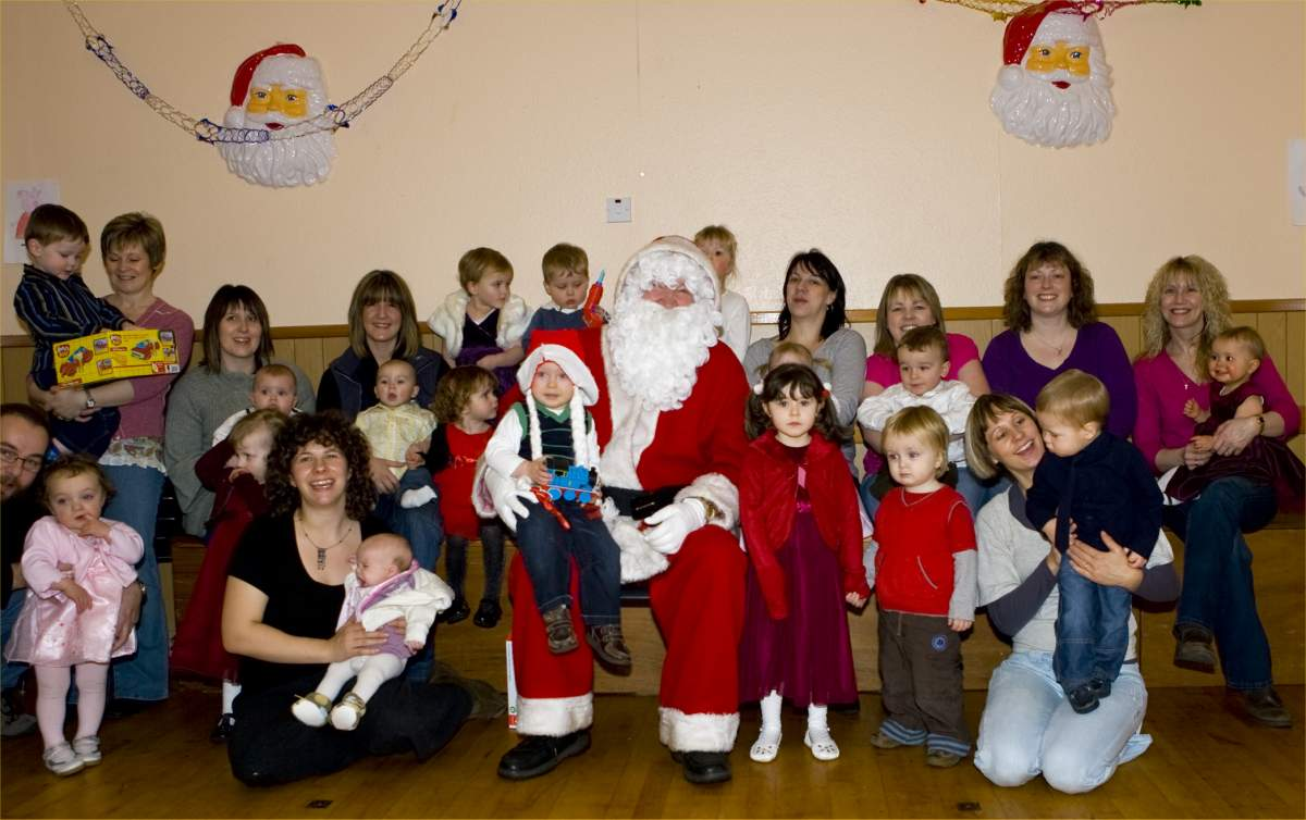 Photo: Murkle Mother & Toddler Group At The Christmas Party