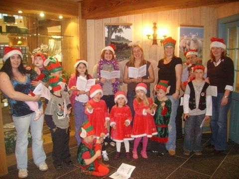 Photo: Adults and Children Sing Christmas Carols for Scallywags Nursery