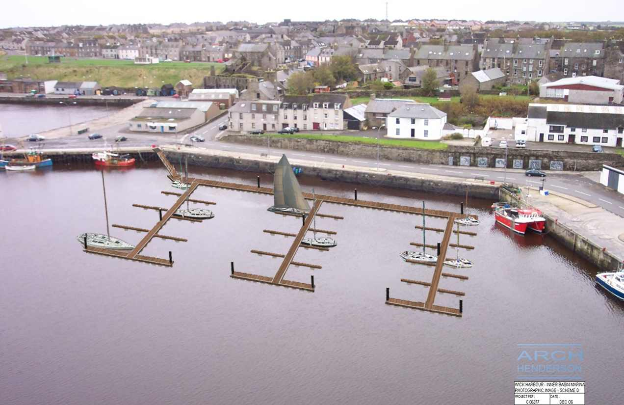 Photo: New Wick Marina To Be In Place For 2009 Sailing Season