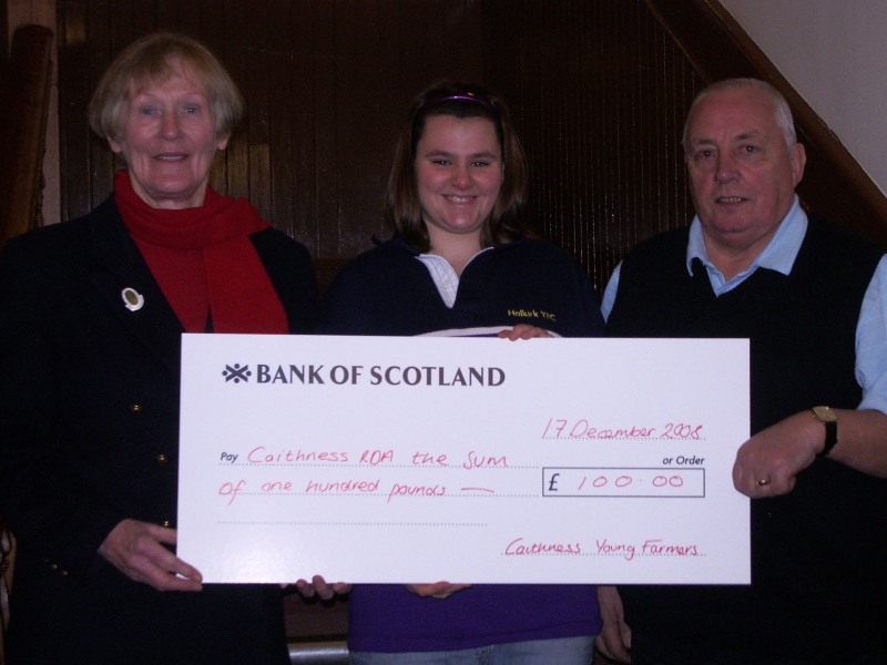 Photo: Caithness Young Farmers Generation Game Raises Funds For Charities