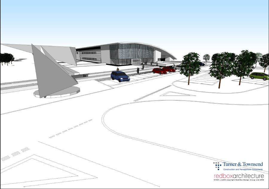 Photo: Artists Impression Of The New Archive