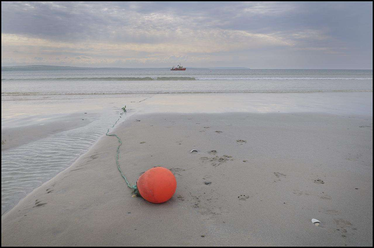 Photo: Cable Laying At Dunnet