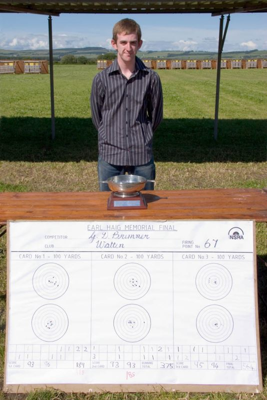 Photo: Gregor, Quaich and score indicator card
