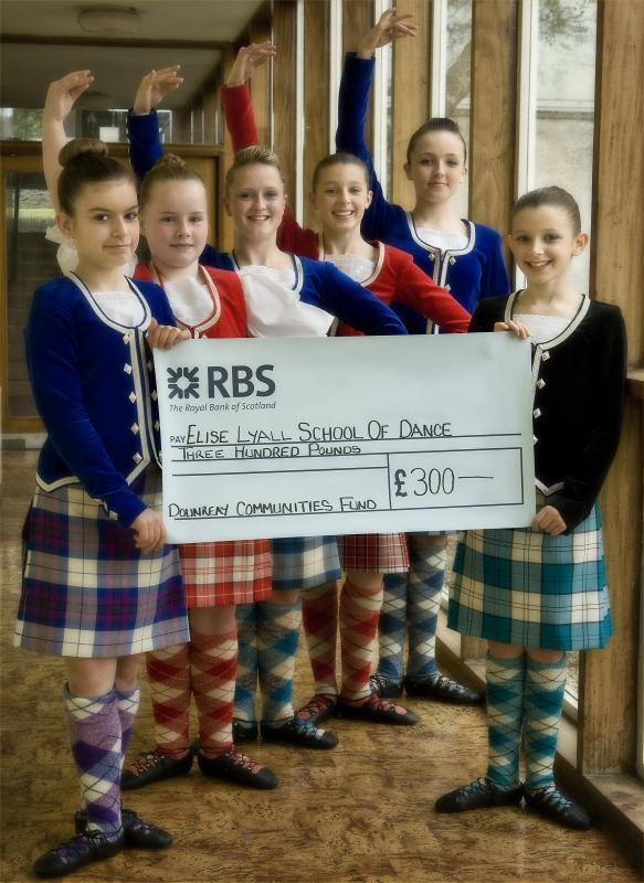 Photo: Dounreay Communities Fund Supports Elise Lyall Dancers Trip