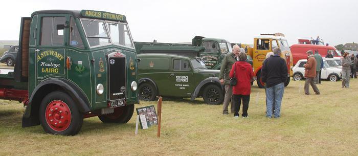 Photo: Vintage Vehicles Rally 2008 - John O'Groats