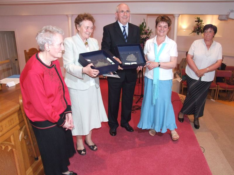 Photo: Rev Bill Wallace Farewell Evening At Pulteneytown Church