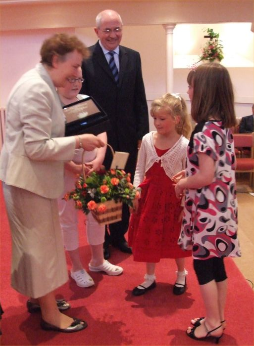 Photo: Rev Bill Wallace Farewell Evening At Pulteneytown Church