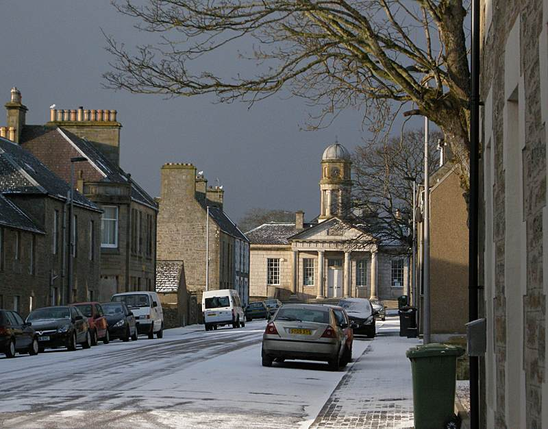 Photo: Snow Scene In Thurso For Easter Monday - 7.30am