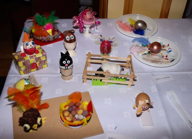 Photo: Lybster Primary School Easter Fayre At Portland Arms Hotel