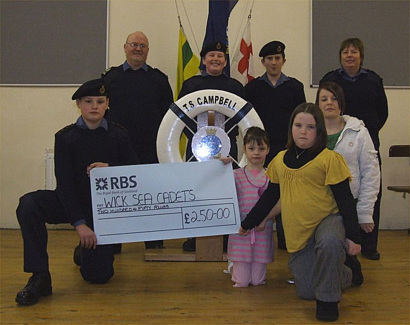 Photo: Surprise Birthday Party Raises £250 for Wick Sea Cadets