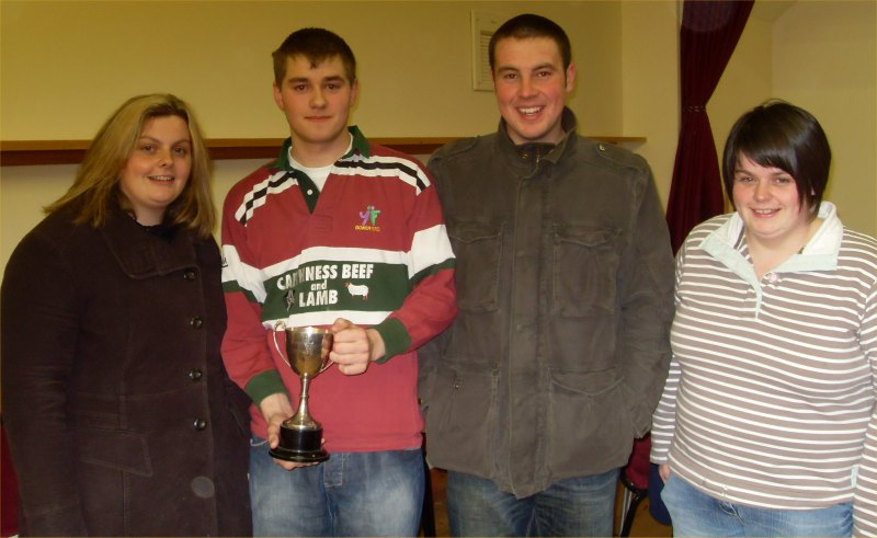 Photo: Bower Team Wins Young Farmers - Brains Of The North