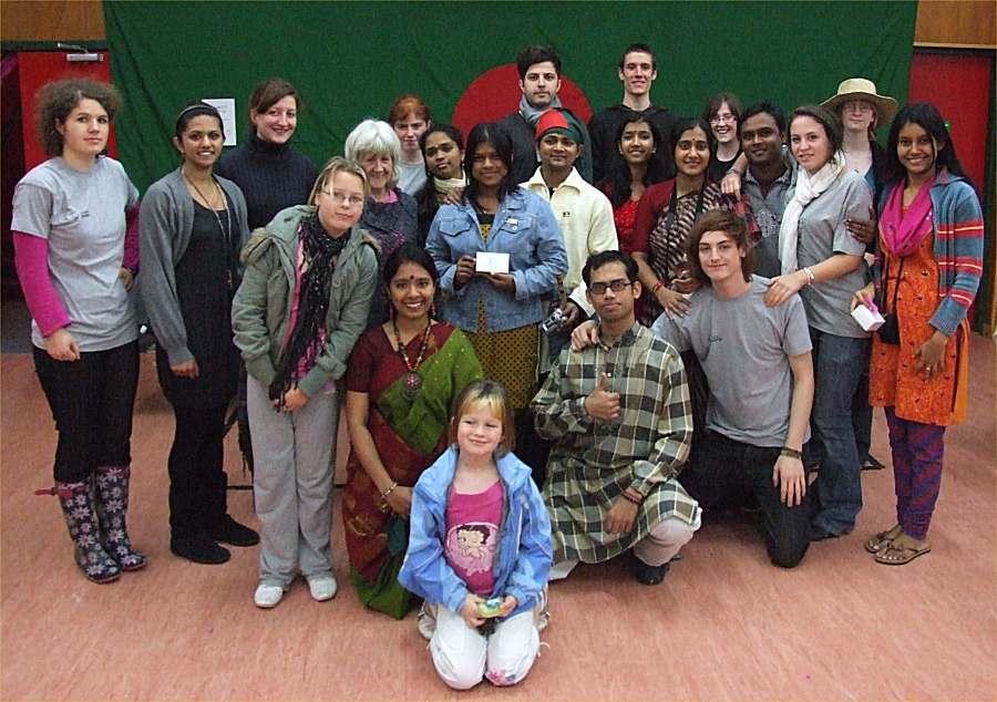 Photo: Global Xchange Volunteers Fun Day At Wick