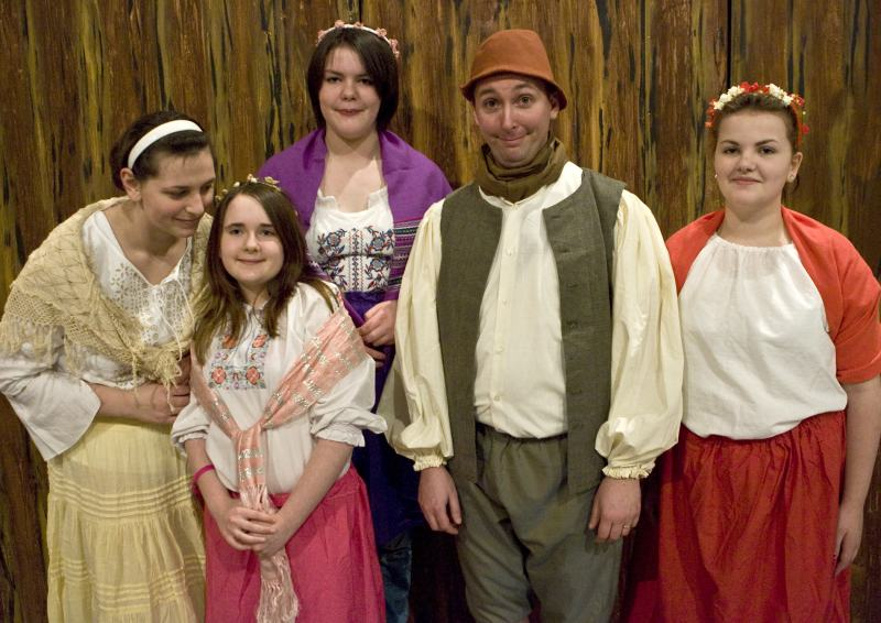Photo: Some Of The Cast From Hansel and Gretel Pantomime From Thurso Players