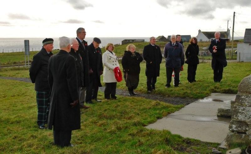 Photo: Remembrance At Clyth
