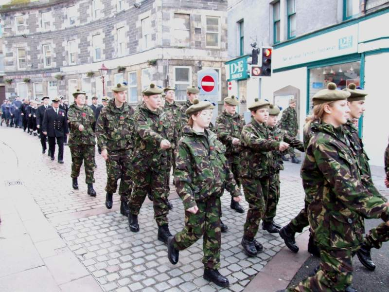 Photo: Remembrance Parade At Wick