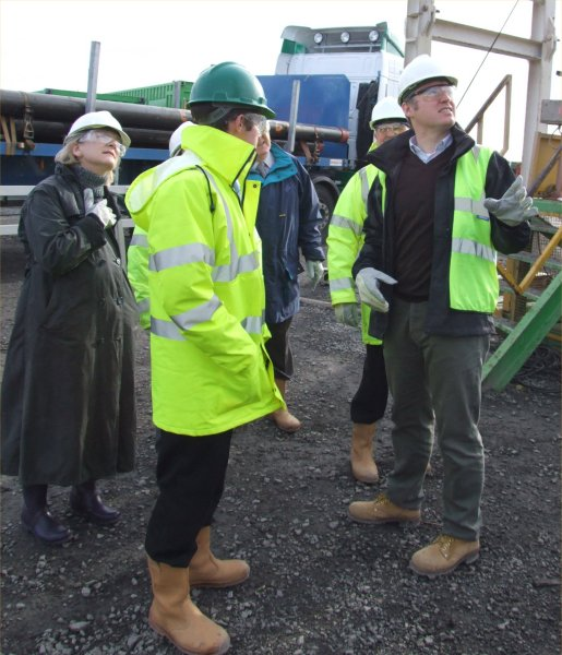 Photo: Caithness Councillors Visited The Oil Rig At Lybster