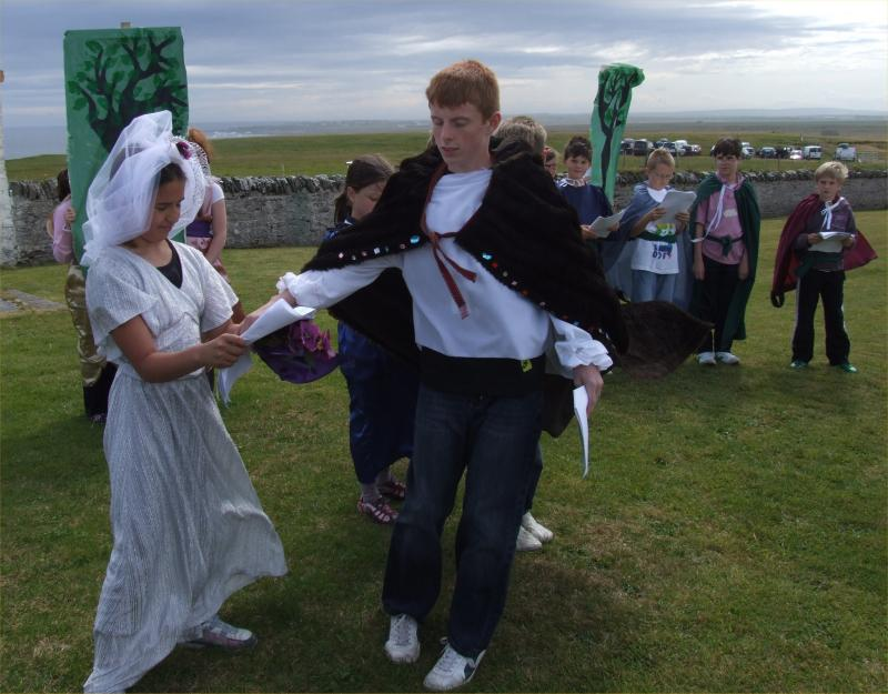 Photo: Writing On The Wall - A Drama About Caithness History At Noss Head