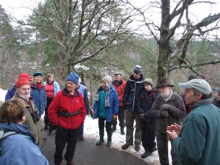 Photo: Discussions On Aspen With Rick Worrell, Forestry Consultant