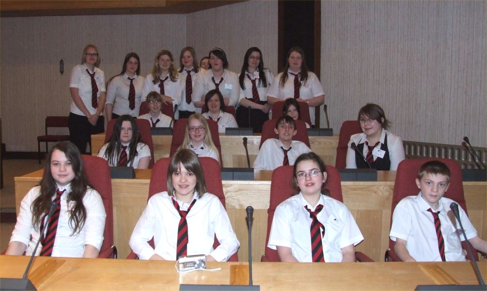 Photo: Thurso High Choir - Any Potential Councillors Here?