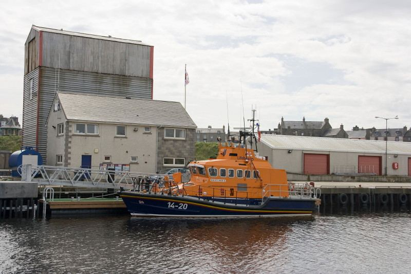 Photo: Wick Lifeboat Gets New Pontoon