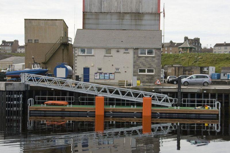 Photo: Wick Lifeboat Gets New Pontoon
