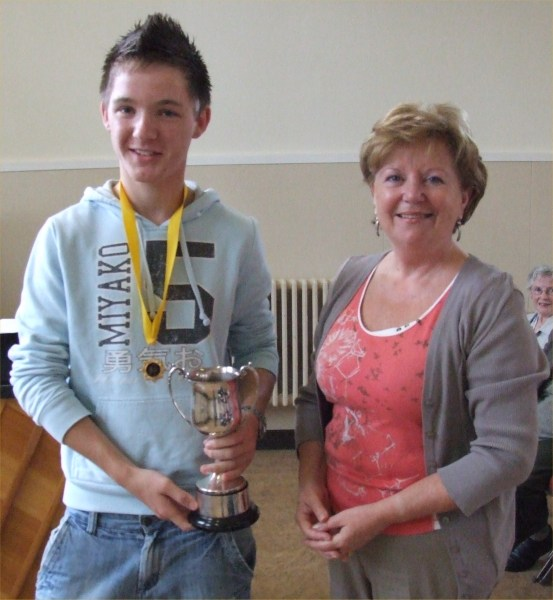 Photo: Colin Stone Wins Speech Making Competition