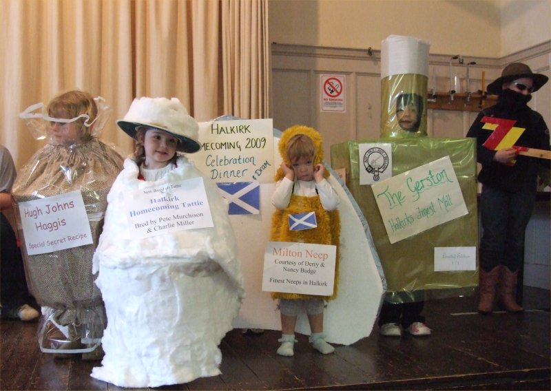Photo: Halkirk Gala 2009 - Children's Fancy Dress