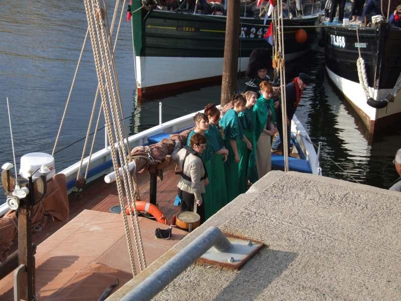 Photo: Wick HarbourFest - Herring Queen Ceremonies