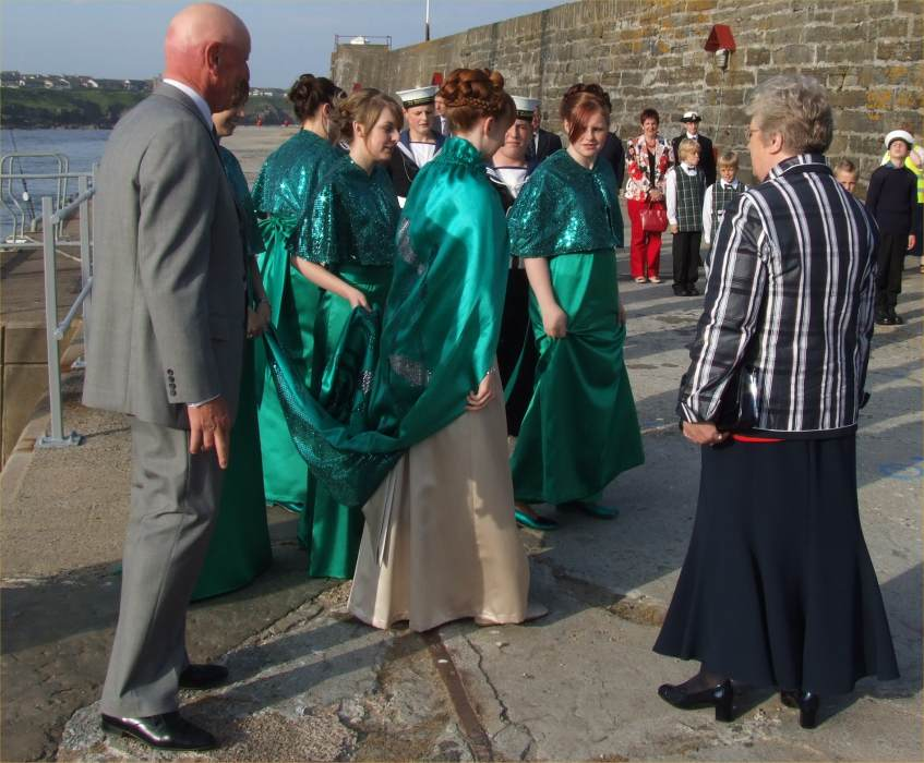 Photo: Wick HarbourFest - Herring Queen Ceremonies