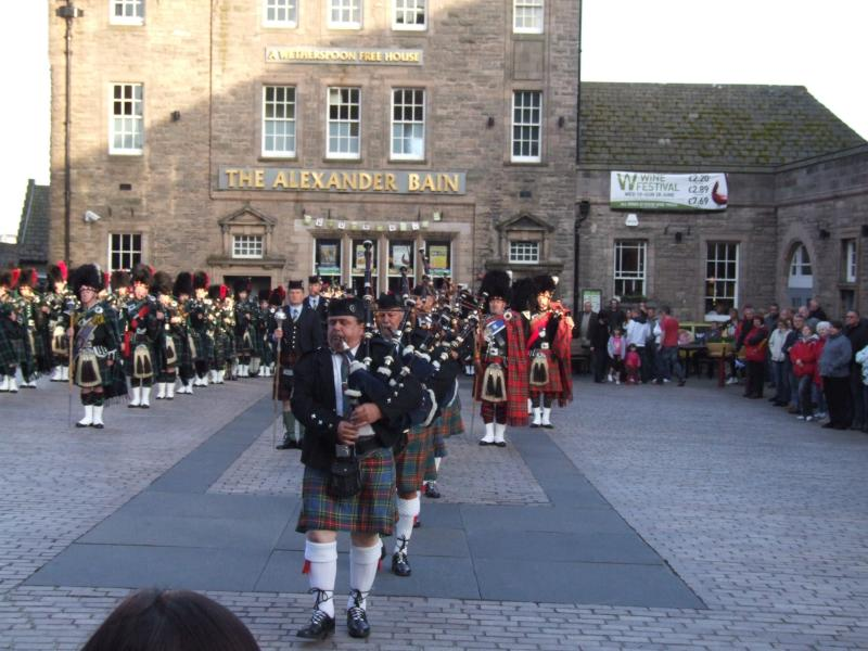 Photo: Wick Pipe Band 90th Anniversary - Friday 19th June 2009