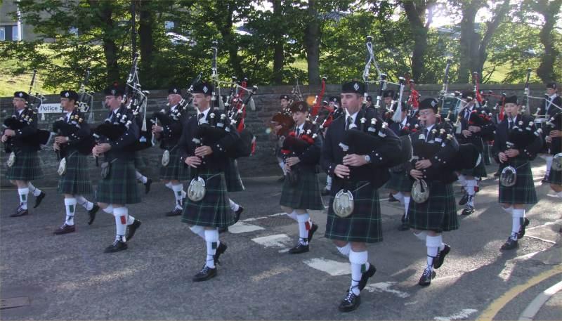 Photo: Wick Pipe Band 90th Anniversary - Saturday 20th June 2009