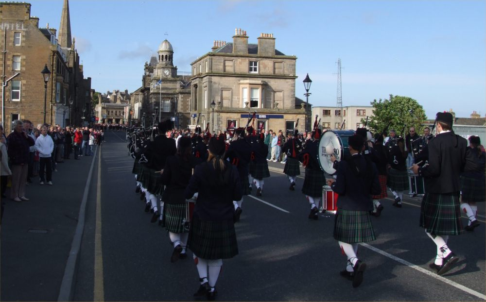 Photo: Wick Pipe Band 90th Anniversary - Saturday 20th June 2009
