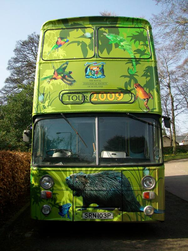Photo: Edinburgh Zoo Wild Bus Tours North Coast