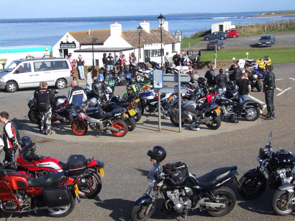 Photo: Gary McLean Memorial Charity Motorcyle Event In Caithness