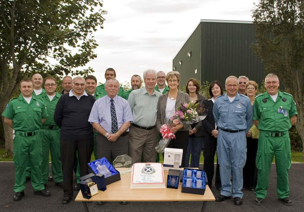 Photo: Ambulance Man John Laing Retires From Wick After 35 Years