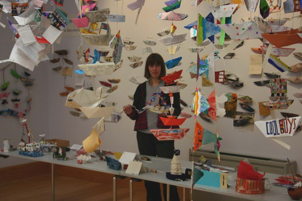 Photo: Paper Boats Update 29 September 2009